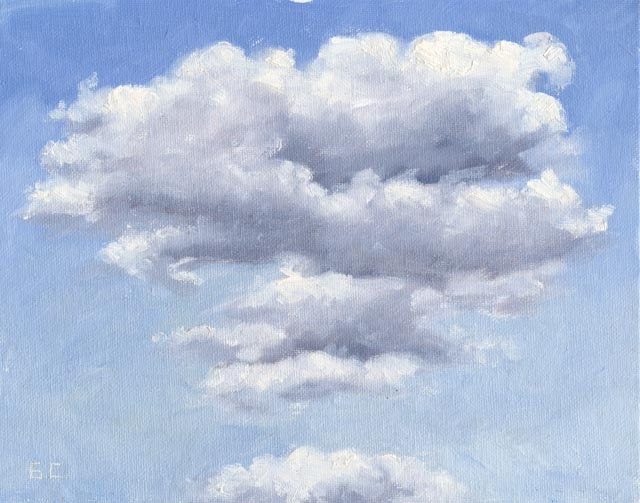 Dancing Cloud Oil on Canvas