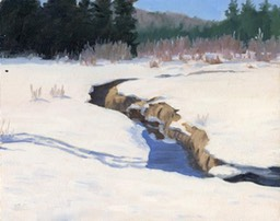 Winter Creek Oil on Board